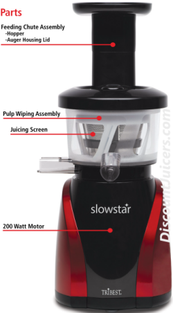 Slowstar Juicer Parts sw2000